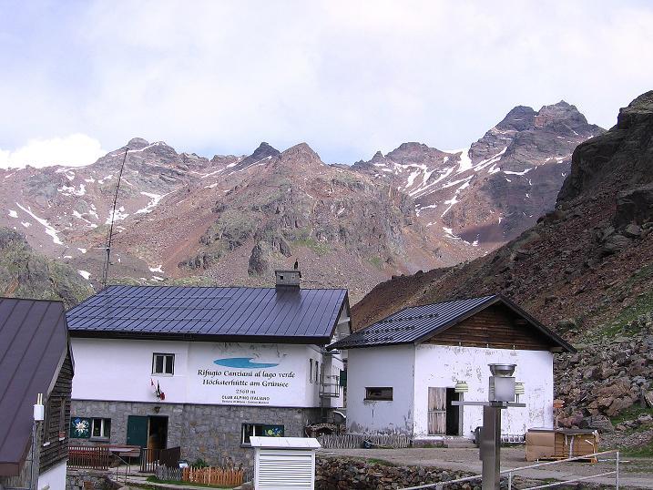 Foto: Andreas Koller / Wander Tour / Vom Grünsee auf die Zufrittspitze (3439m) / Höchsterhütte und Zufrittspitze / 12.09.2008 00:50:38