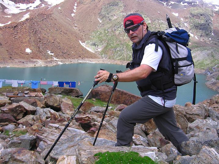 Foto: Andreas Koller / Wander Tour / Vom Grünsee auf die Zufrittspitze (3439m) / Bei der Höchsterhütte / 12.09.2008 00:49:42