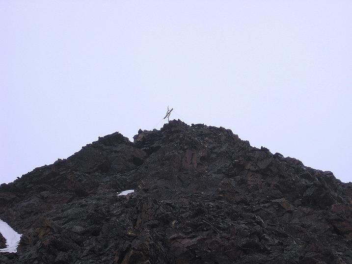 Foto: Andreas Koller / Wander Tour / Vom Grünsee auf die Zufrittspitze (3439m) / Rascher Rückzug vom Gipfel / 12.09.2008 00:45:56