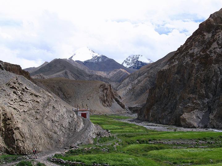 Foto: Andreas Koller / Wander Tour / Durch das Markha Valley nach Tachuntse (4406m) / Kang Yatse (6404 m) und eine unbekannter 6000er / 12.09.2008 01:20:38