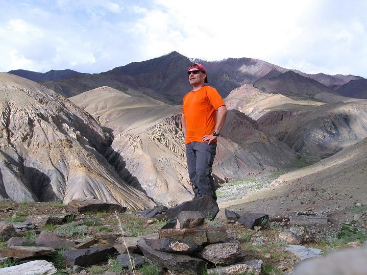 Foto: Andreas Koller / Wander Tour / Durch das Markha Valley nach Tachuntse (4406m) / Am Tachuntse Ri / 12.09.2008 01:17:16