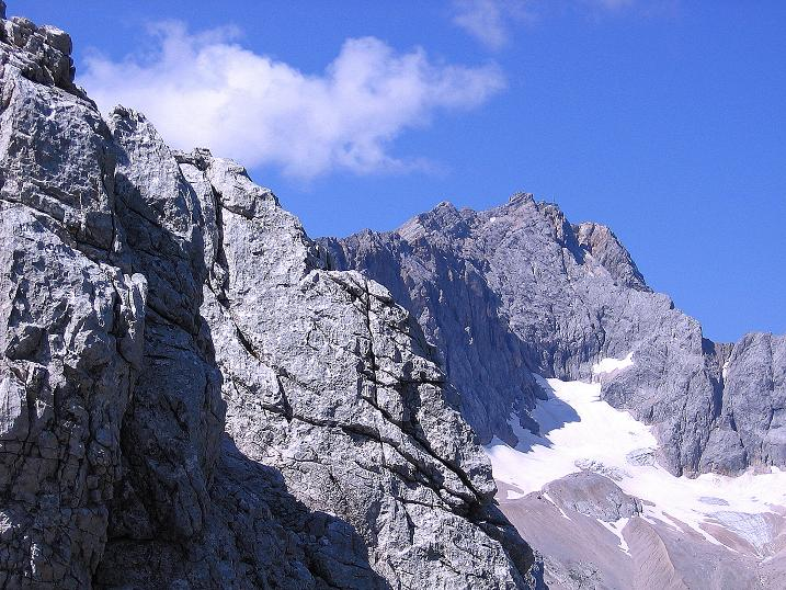 Foto: Andreas Koller / Klettersteig Tour / Alpspitze Ferrata und Überschreitung (2628m) / Die Zugspitze (2963 m) / 12.09.2008 15:46:25