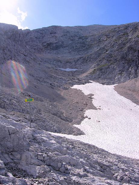 Foto: Andreas Koller / Klettersteig Tour / Alpspitze Ferrata und Überschreitung (2628m) / Das NO-Kar / 12.09.2008 15:39:25