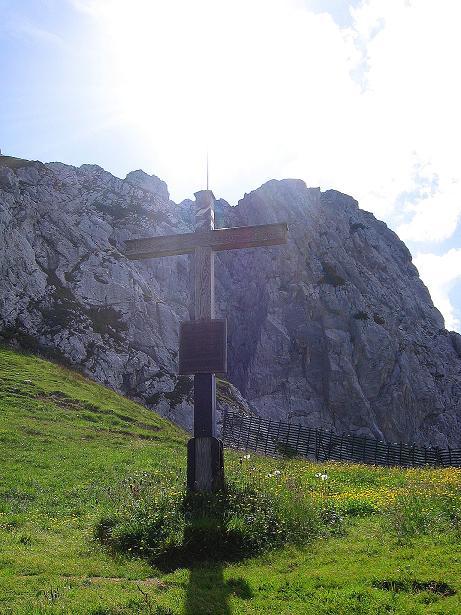 Foto: Andreas Koller / Klettersteig Tour / Alpspitze Ferrata und Überschreitung (2628m) / Zurück am Osterfelderkopf / 12.09.2008 15:38:02