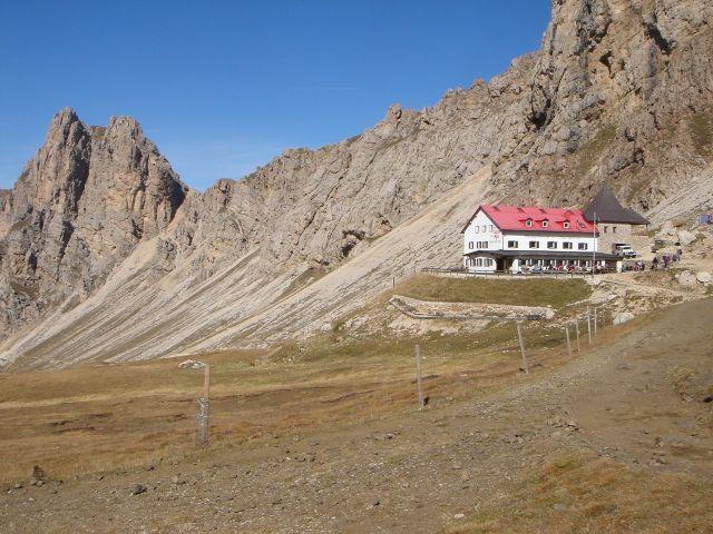 Foto: Manfred Karl / Klettersteig Tour / Über den Maximiliansteig auf die Roterdspitze / Tierser Alpl Hütte / 14.09.2008 10:33:28