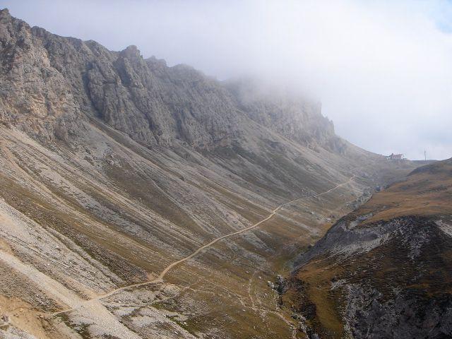 Foto: Manfred Karl / Klettersteig Tour / Über den Maximiliansteig auf die Roterdspitze / Rückweg zum Tierser Alpl / 14.09.2008 10:35:11