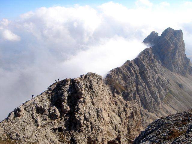 Maximilian Klettersteig : Fotogalerie tourfotos fotos zur klettersteig tour Über den