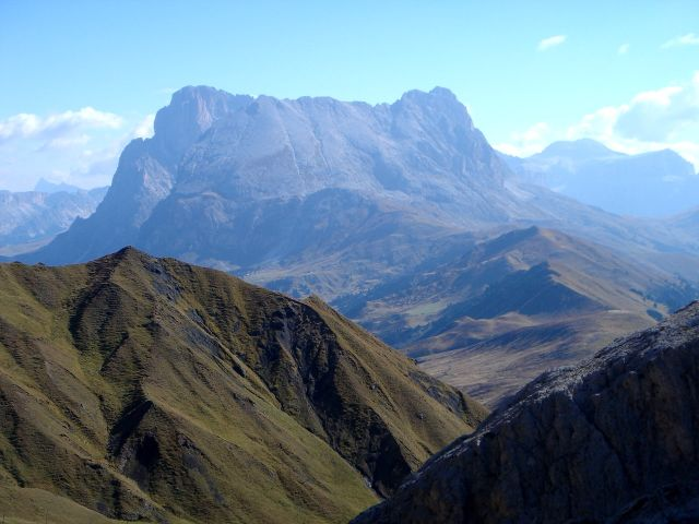 Foto: Manfred Karl / Klettersteig Tour / Laurenzisteig auf den Mittleren Molignon / Langkofelgruppe / 14.09.2008 11:41:33