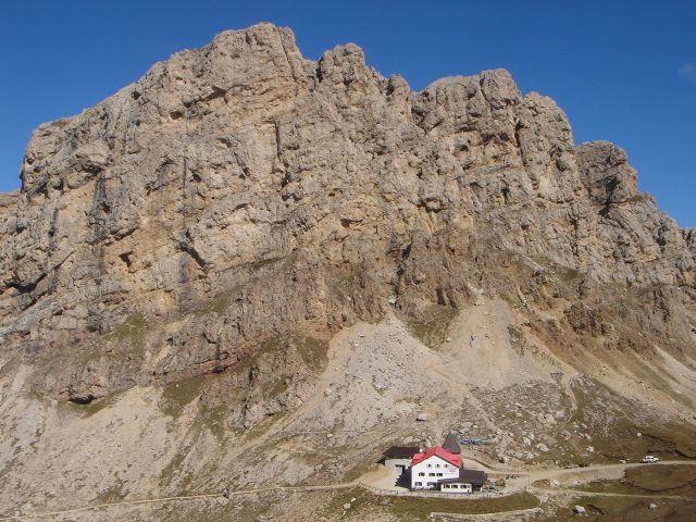 Foto: Manfred Karl / Klettersteig Tour / Laurenzisteig auf den Mittleren Molignon / Tierser Alpl Hütte / 14.09.2008 11:39:42