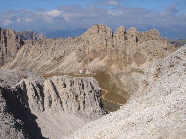 Foto: Manfred Karl / Klettersteig Tour / Laurenzisteig auf den Mittleren Molignon / Roßzähne und Tierser Alpl / 14.09.2008 11:36:57