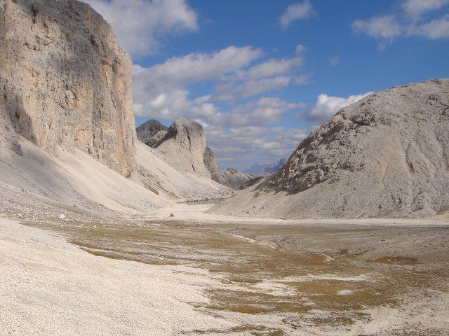 Foto: Manfred Karl / Klettersteig Tour / Laurenzisteig auf den Mittleren Molignon / Valon de Antermoia / 14.09.2008 11:17:00