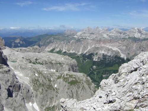 Foto: hofchri / Klettersteig Tour / Via ferrata Piz da Lech / Cir- und Geißlerspitzen / 03.10.2009 18:27:51