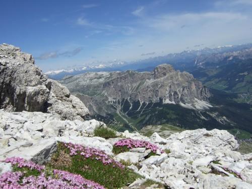 Foto: hofchri / Klettersteig Tour / Via ferrata Piz da Lech / gigantische Fernsicht / 03.10.2009 18:28:24