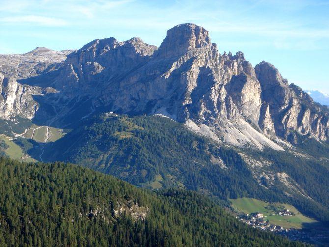 Foto: Manfred Karl / Klettersteig Tour / Via ferrata Piz da Lech / Sass Songher über Corvara / 14.09.2008 19:16:06