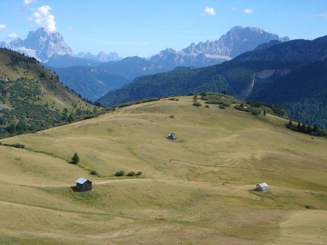 Foto: Manfred Karl / Klettersteig Tour / Via ferrata Piz da Lech / Pelmo und Civetta / 14.09.2008 18:59:42