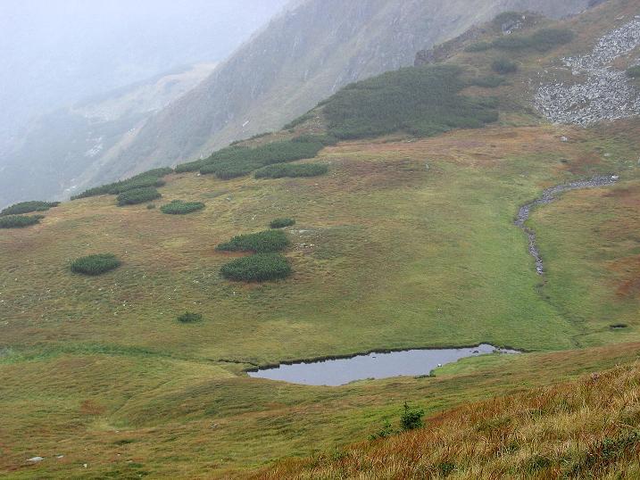 Foto: Andreas Koller / Wander Tour / Kammtour über dem Sölkpass (2284 m) / Seenauge unter der Hornfeldspitze / 13.09.2008 23:30:49