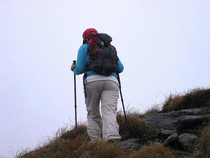 Foto: Andreas Koller / Wander Tour / Kammtour über dem Sölkpass (2284 m) / Am breiten Grat unterwegs / 13.09.2008 23:30:16