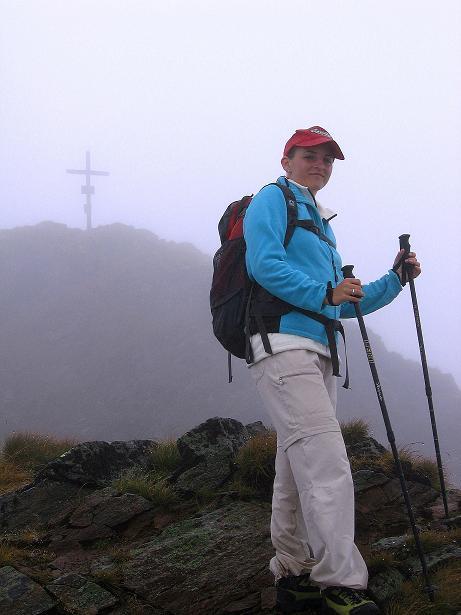 Foto: Andreas Koller / Wander Tour / Kammtour über dem Sölkpass (2284 m) / Am Vorgipfel der Hornfeldspitze / 13.09.2008 23:30:00