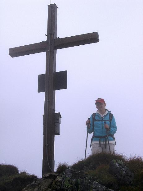 Foto: Andreas Koller / Wander Tour / Kammtour über dem Sölkpass (2284 m) / Auf der Hornfeldspitze / 13.09.2008 23:28:34