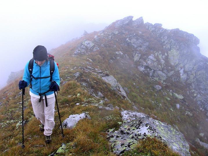 Foto: Andreas Koller / Wander Tour / Kammtour über dem Sölkpass (2284 m) / Verbindungsgrat Hornfeldspitze - Aarfeldspitze / 13.09.2008 23:27:58