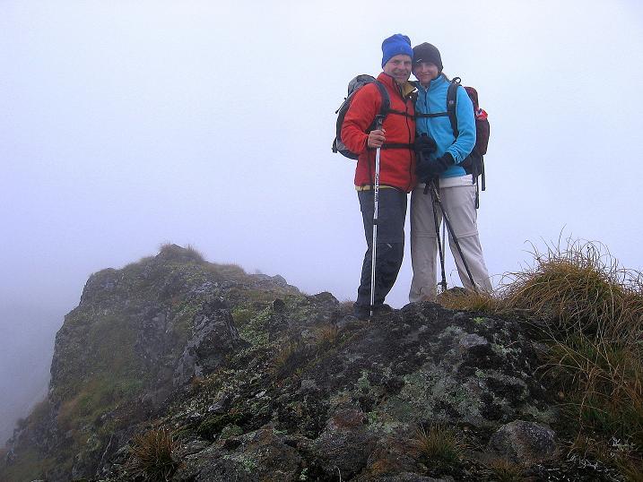 Foto: Andreas Koller / Wander Tour / Kammtour über dem Sölkpass (2284 m) / Auf der Aarfeldspitze / 13.09.2008 23:27:13
