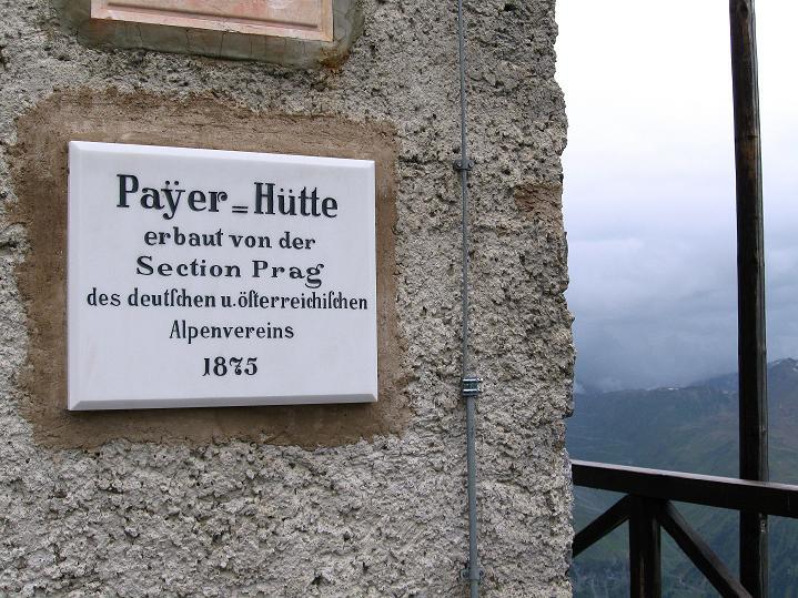 Foto: Andreas Koller / Wander Tour / König Ortler (3905m) / Payerhütte / 14.09.2008 01:26:19