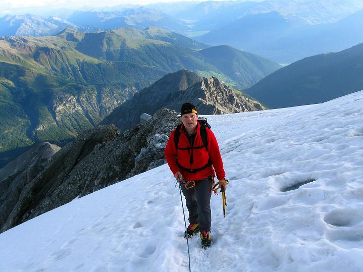 Foto: Andreas Koller / Wander Tour / König Ortler (3905m) / Über dem Ortlerbiwak / 14.09.2008 01:24:12