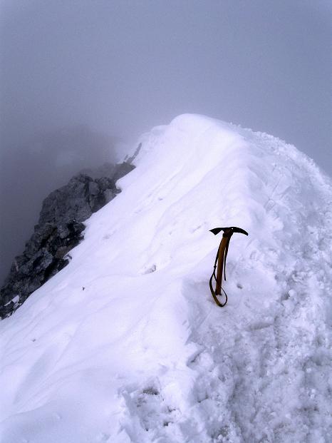 Foto: Andreas Koller / Wander Tour / König Ortler (3905m) / Gipfelwechte / 14.09.2008 01:21:10
