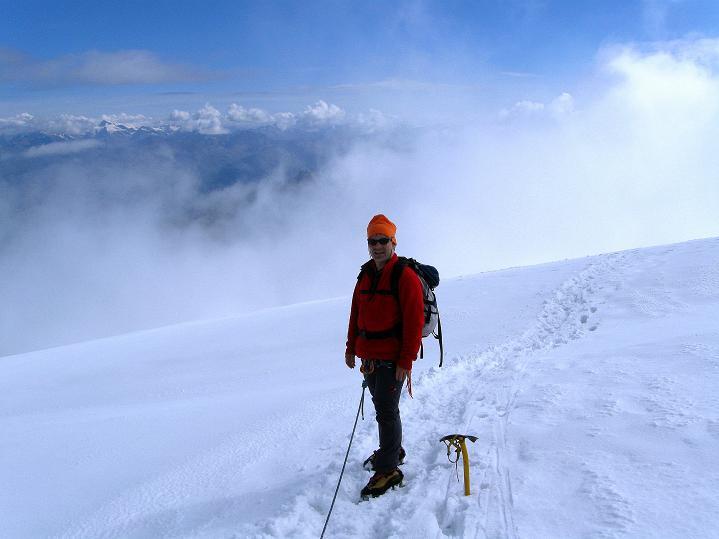 Foto: Andreas Koller / Wander Tour / König Ortler (3905m) / Am Ortlerferner / 14.09.2008 01:19:55