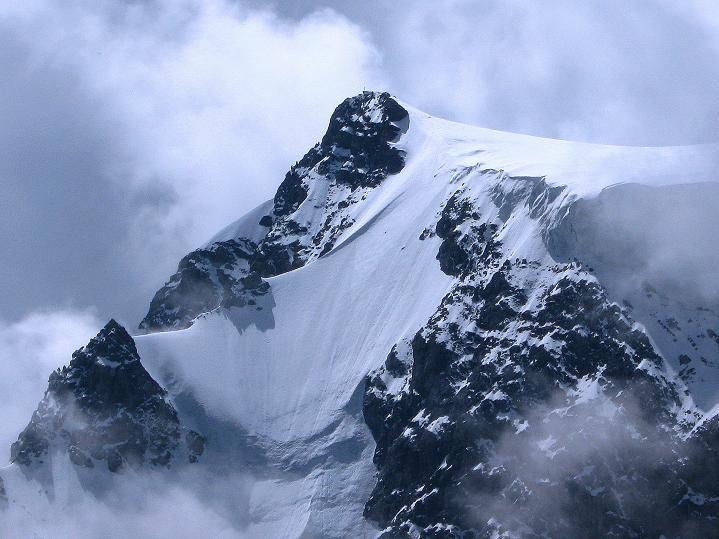 Foto: Andreas Koller / Wander Tour / König Ortler (3905m) / König Ortler - Gipfelansicht und N-Wand / 14.09.2008 01:14:12