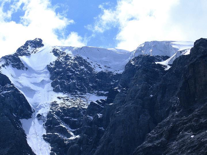 Foto: Andreas Koller / Wander Tour / König Ortler (3905m) / Der Obere Ortlerferner und Ortlergipfel / 14.09.2008 01:12:57