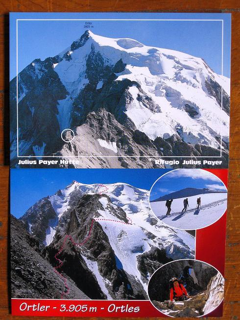 Foto: Andreas Koller / Wander Tour / König Ortler (3905m) / Payerhütte und die Route auf König Ortler / 14.09.2008 01:26:40