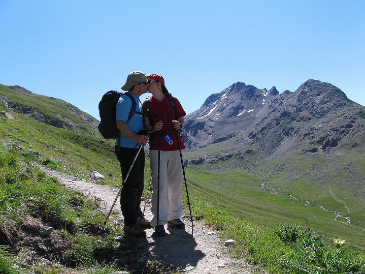 Foto: Andreas Koller / Wander Tour / Piz Languard (3262m) - Bernina-Aussichtsloge  / Im Val Languard / 14.09.2008 17:12:56