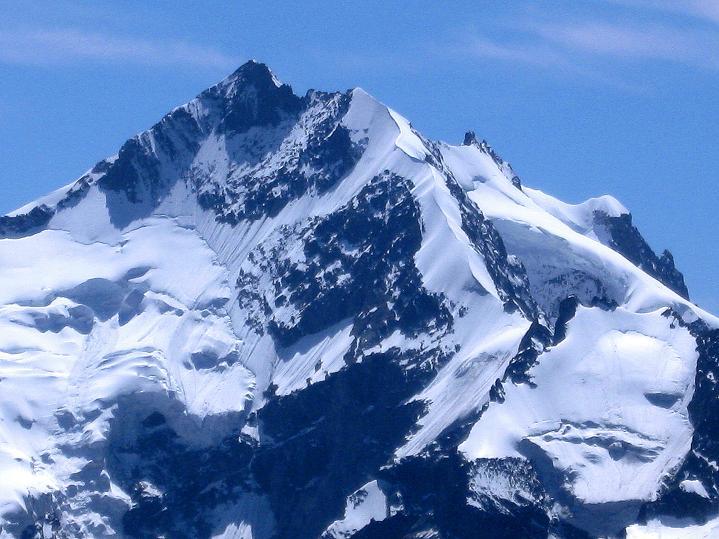 Foto: Andreas Koller / Wander Tour / Piz Languard (3262m) - Bernina-Aussichtsloge  / Piz Bernina mit Biancograt (4049 m) / 14.09.2008 17:05:35