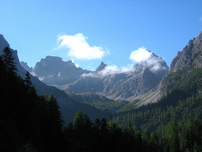 Foto: Andreas Koller / Klettersteig Tour / Klettersteig Ari Schübel (2772 m) / Von der Dolomitenhütte zur Karlsbader Hütte / 14.09.2008 17:57:05