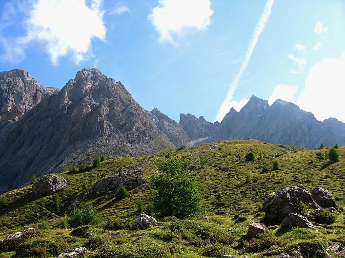 Foto: Andreas Koller / Klettersteig Tour / Klettersteig Ari Schübel (2772 m) / Sandspitzen und Laserzwand (2614 m) / 14.09.2008 17:56:12