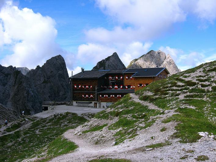Foto: Andreas Koller / Klettersteig Tour / Klettersteig Ari Schübel (2772 m) / Karlsbader Hütte / 14.09.2008 17:54:27