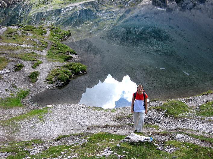Foto: Andreas Koller / Klettersteig Tour / Klettersteig Ari Schübel (2772 m) / Laserzesee / 14.09.2008 17:54:13
