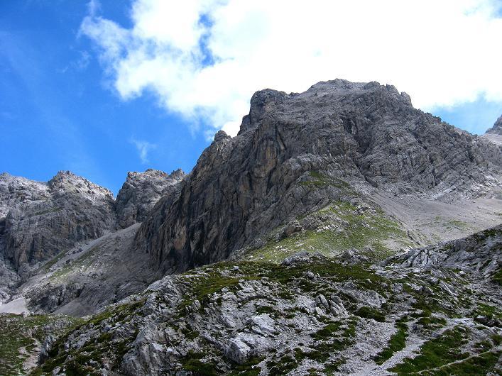 Foto: Andreas Koller / Klettersteig Tour / Klettersteig Ari Schübel (2772 m) / Die Sandspitzen / 14.09.2008 17:53:59