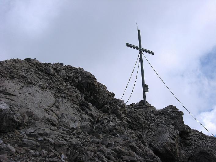 Foto: Andreas Koller / Klettersteig Tour / Klettersteig Ari Schübel (2772 m) / Die letzten Meter zum Gipfel / 14.09.2008 17:49:36