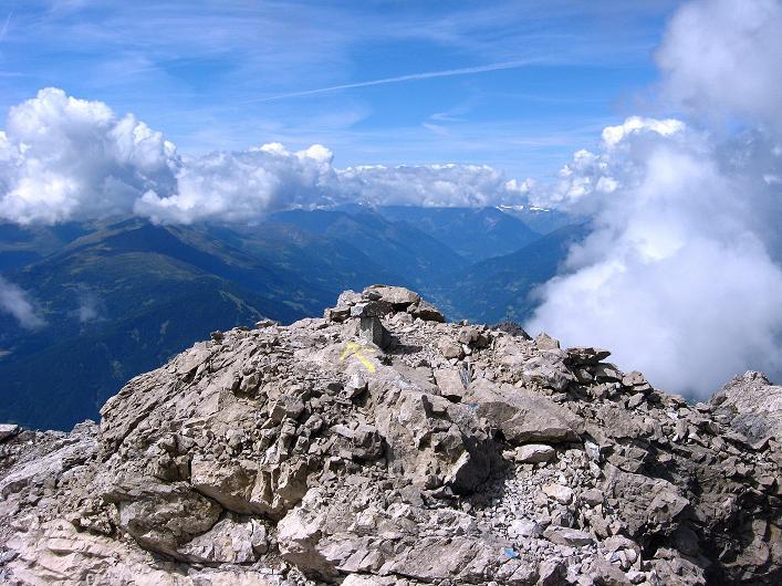 Foto: Andreas Koller / Klettersteig Tour / Klettersteig Ari Schübel (2772 m) / Blick nach W zur Venediger-Gruppe / 14.09.2008 17:45:37