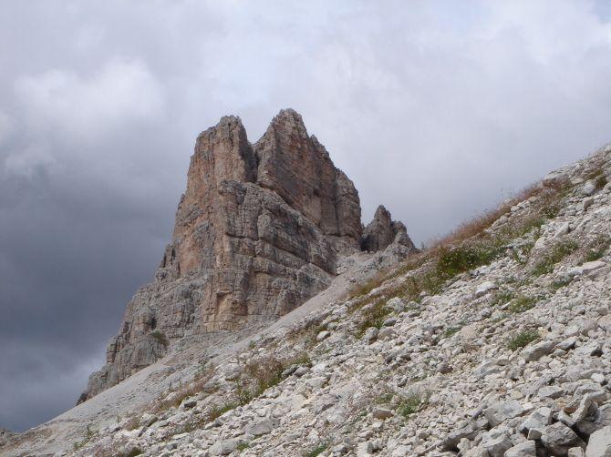 Foto: Manfred Karl / Klettersteig Tour / Via ferrata Ra Gusela / Averau / 14.09.2008 20:58:41