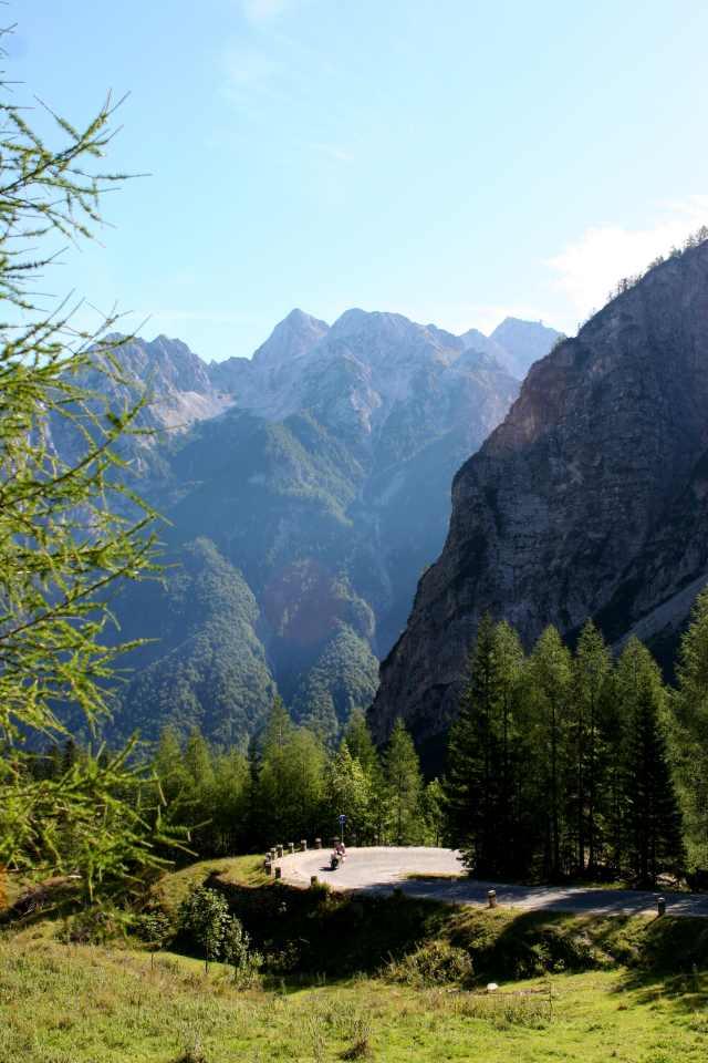 Foto: roberdor / Rad Tour / Rennrad Drei-Länder-Tour - Julische Alpen / Vrsic Passstraße / 15.09.2008 16:58:06