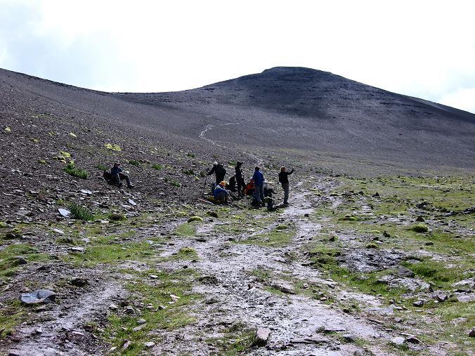 Foto: Andreas Koller / Wander Tour / Über Nimaling auf den Konmaru Ri (5446 m) / Mäßig steiler Anstieg auf den Konmaru La / 15.09.2008 22:49:31