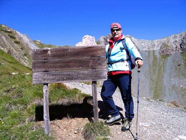 Foto: Andreas Koller / Wander Tour / Auf dem Saazerweg auf die Vordere Kendlspitze (3088m) / Im Reich der Blauspitze / 15.09.2008 23:37:45