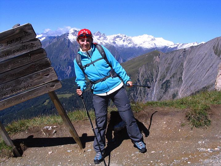 Foto: Andreas Koller / Wander Tour / Auf dem Saazerweg auf die Vordere Kendlspitze (3088m) / Sudetendeutscher Höhenweg / 15.09.2008 23:37:09