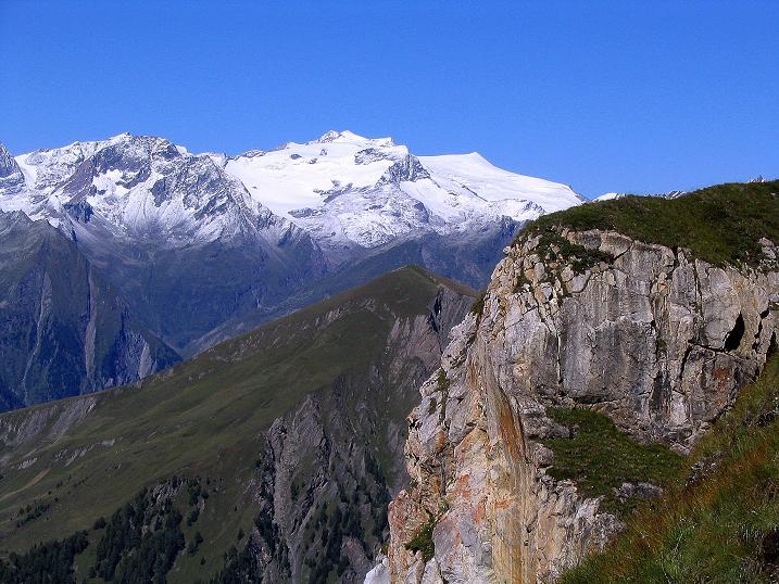 Foto: Andreas Koller / Wander Tour / Auf dem Saazerweg auf die Vordere Kendlspitze (3088m) / Seine weltalte Majestät: der Großvenediger (3674 m) / 15.09.2008 23:36:55