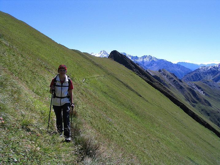 Foto: Andreas Koller / Wander Tour / Auf dem Saazerweg auf die Vordere Kendlspitze (3088m) / Auf dem Sudetendeutschen Höhenweg / 15.09.2008 23:33:55