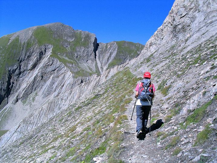 Foto: Andreas Koller / Wander Tour / Auf dem Saazerweg auf die Vordere Kendlspitze (3088m) / Traversierung am Sudetendeutschen Höhenweg / 15.09.2008 23:33:12