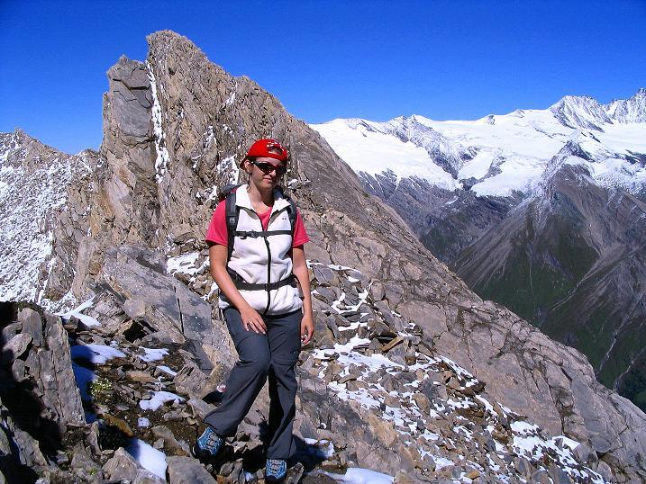 Foto: Andreas Koller / Wander Tour / Auf dem Saazerweg auf die Vordere Kendlspitze (3088m) / Bizarre Felsformationen am N-Grat / 15.09.2008 23:27:32